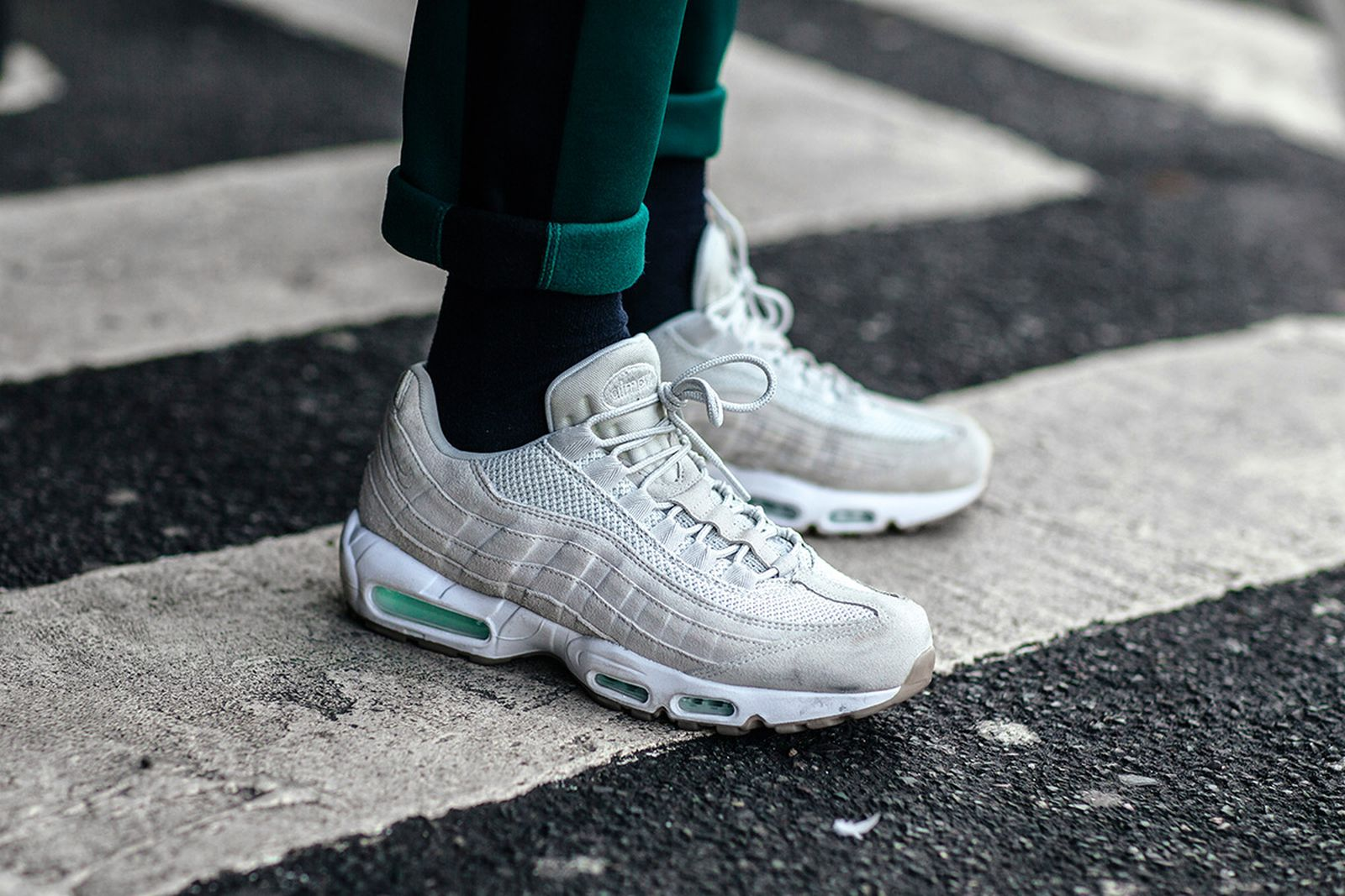 The Air Max 95 – the first Air Max runner to ditch the standard Swoosh on the side.