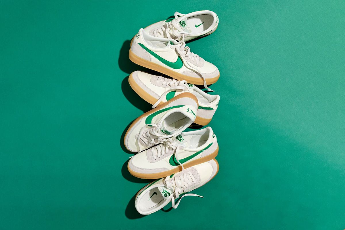 Here's How to Buy J. Crew's Exclusive Sail/Green Take On the Nike Killshot Today