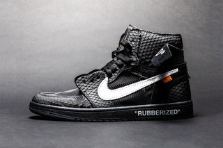 """751d04444 The Shoe Surgeon Douses the Air Jordan 1 in """"Lux"""" Rubberized Python"""