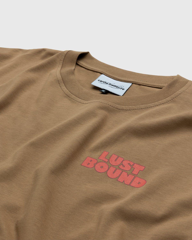 Carne Bollente – Lust Bound T-Shirt Brown - Image 3