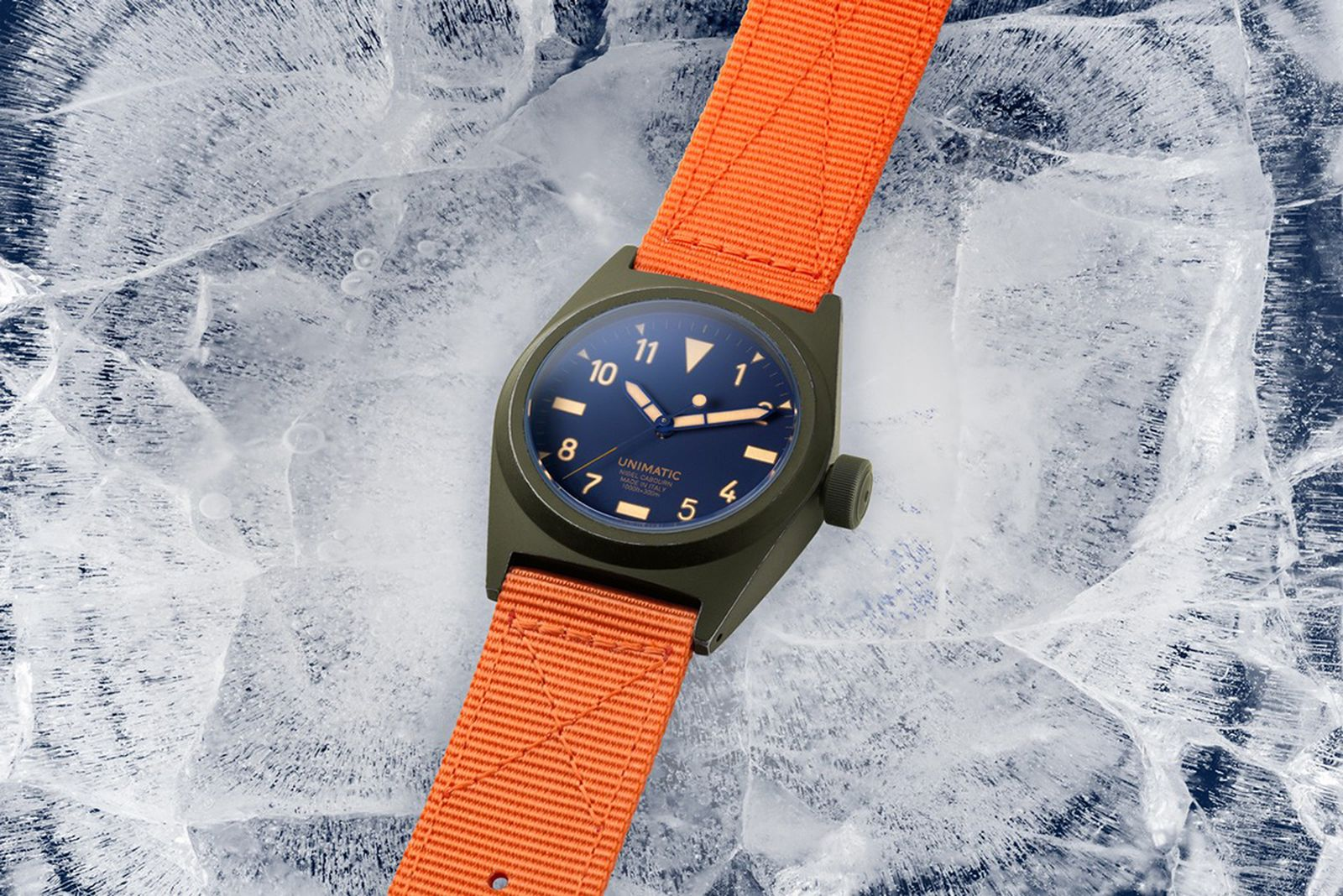 Unimatic x Nigel Cabourn U2-NC Watch