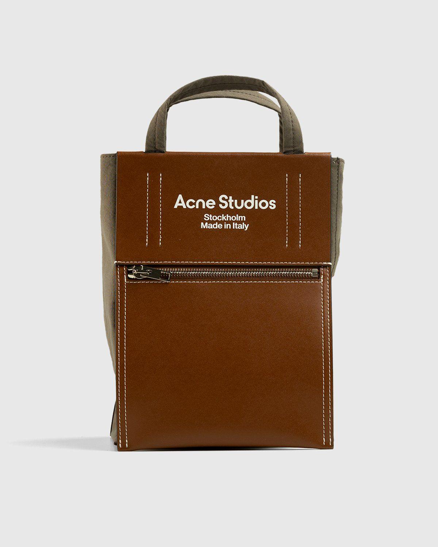 Acne Studios – Mini Tote Bag Brown - Image 1