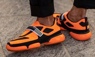 The Best Sneaker Street Style at Milan Fashion Week SS19