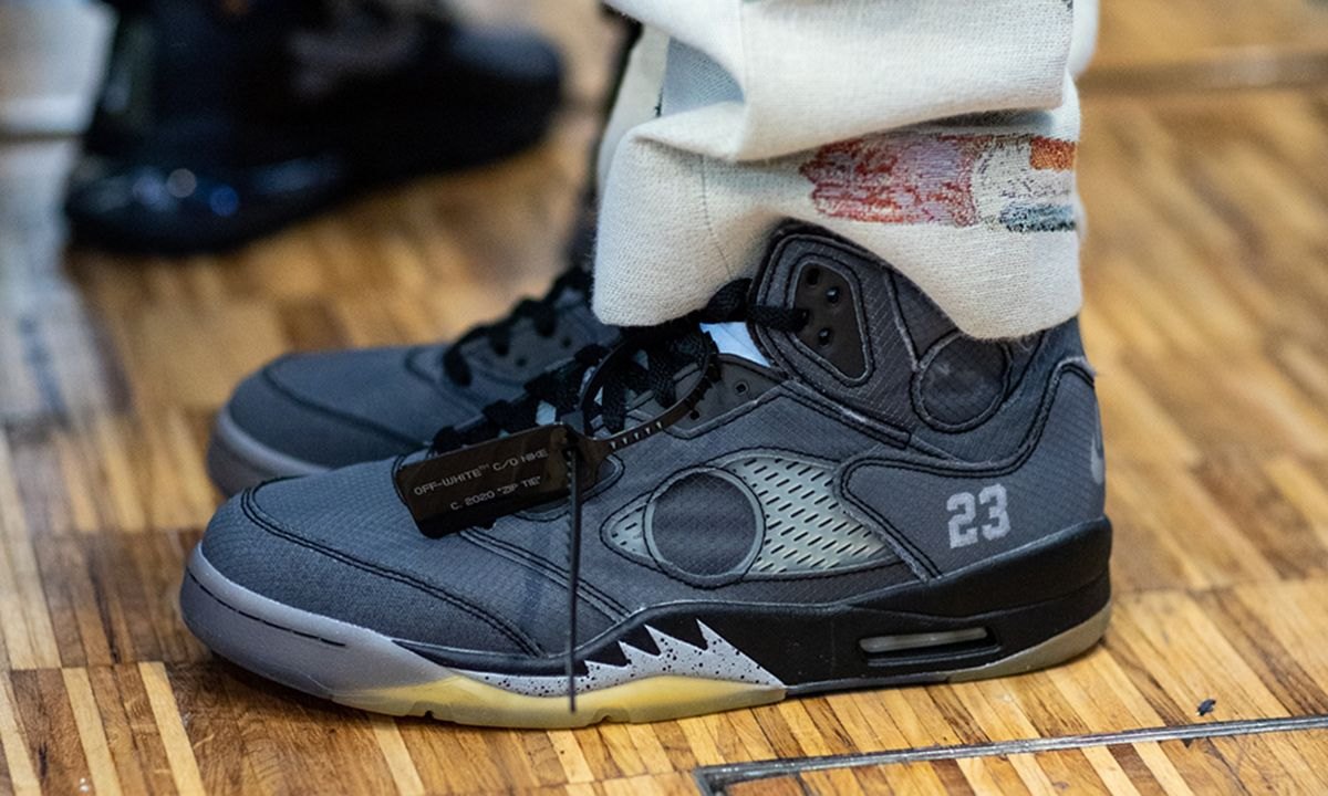 Off-White™ x Nike Air Jordan 5: Official Product Images & Info