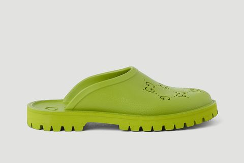Perforated G Slip Ons