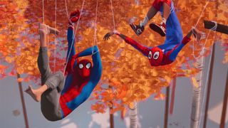 spider man into the spider verse another another dimension trailer Spider-Man: Into the Spider-Verse