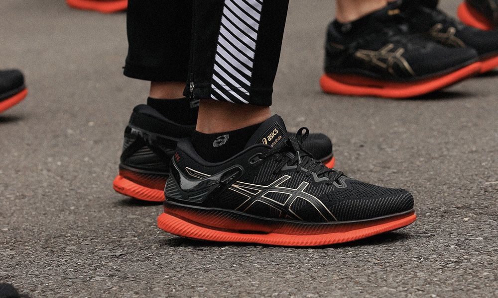 ASICS Launches MetaRide Running Shoe on the Streets of Tokyo