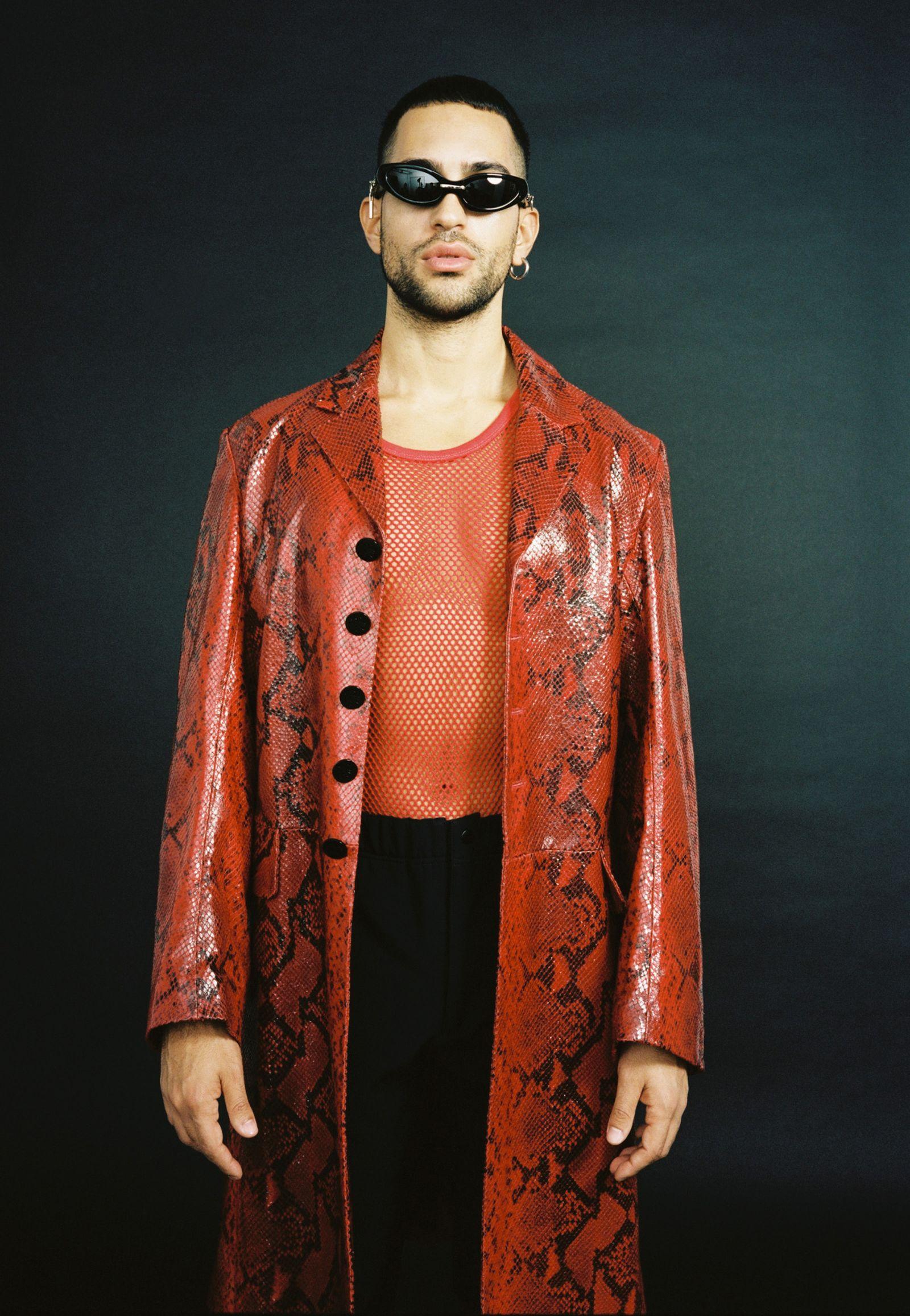 coat, PAUL SMITH pants, CARHARTT WIP  tank top, VITNAGE sunglasses, GENTLE MONSTER