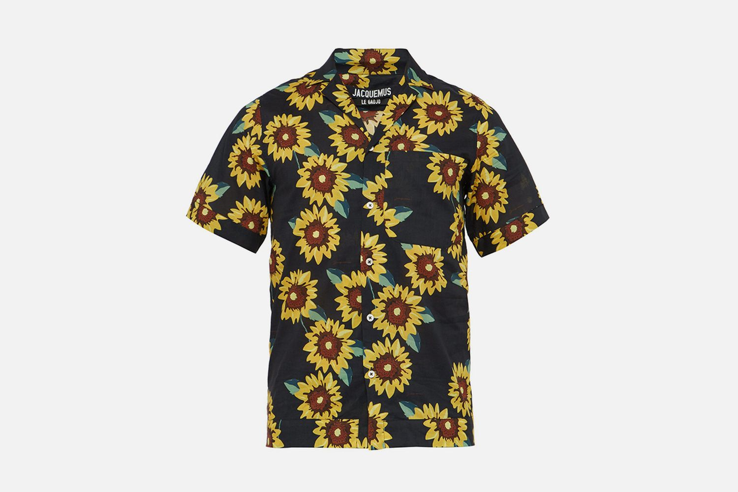 Sunflower Print Shirt