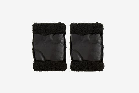 Fingerless Gloves with Fleece Lining