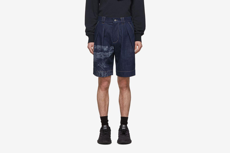 Lanyinhuabu Shorts