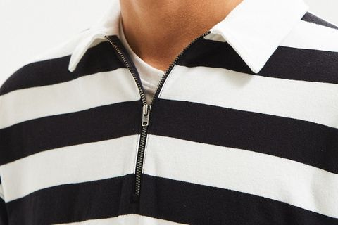 Zip Rugby Shirt