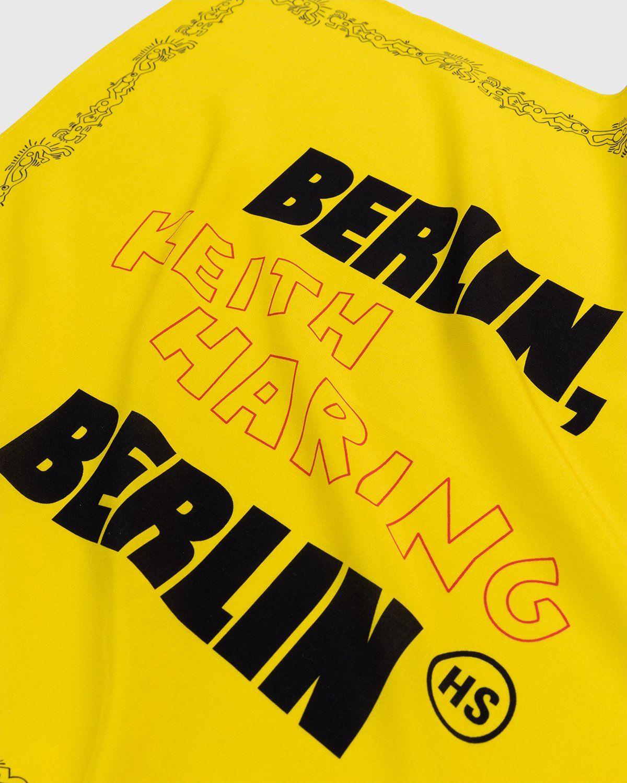 Highsnobiety x Keith Haring – Bandana Yellow - Image 3