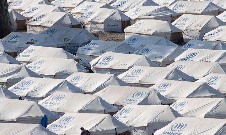 unhcr tents