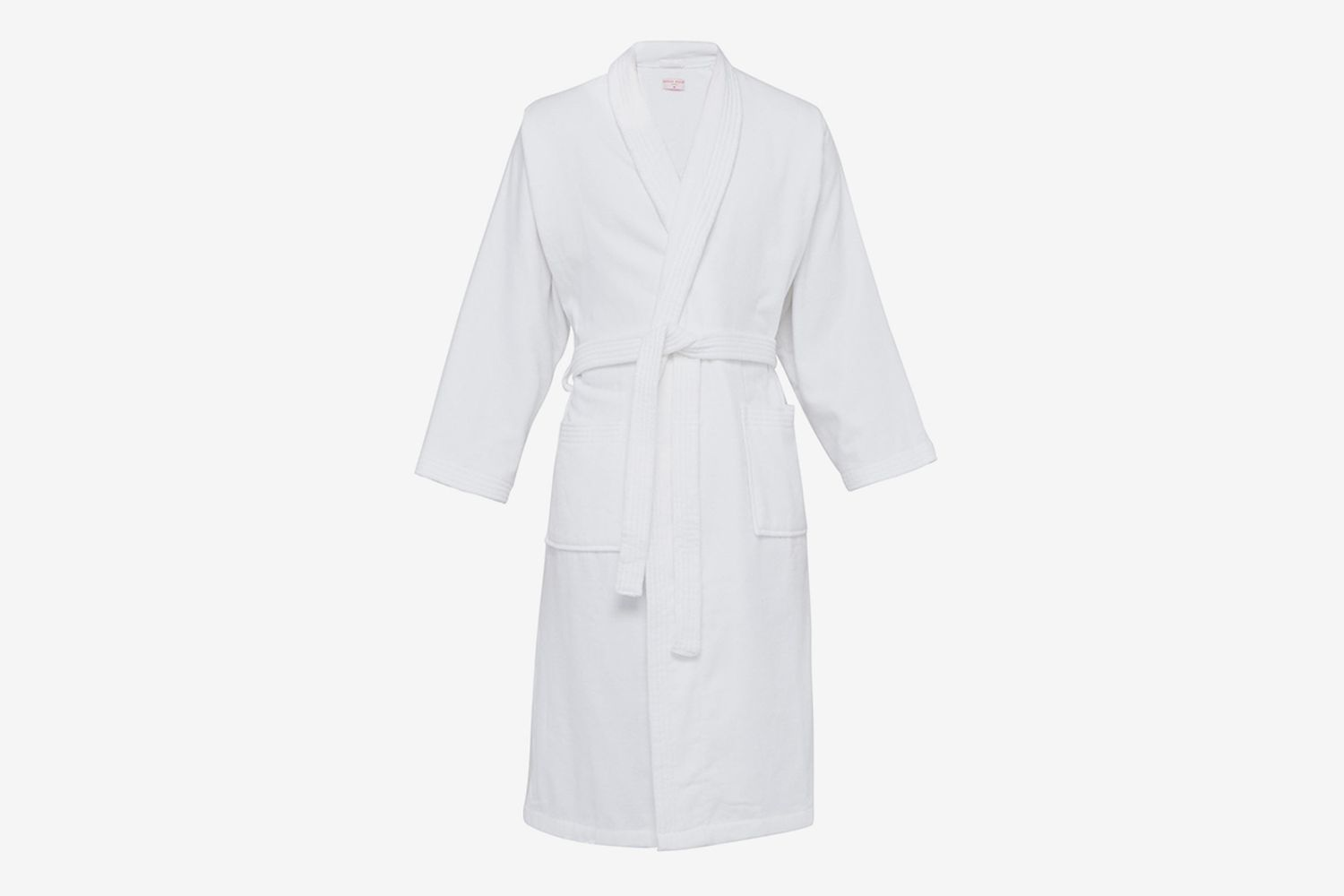Cotton-Velour Bathrobe