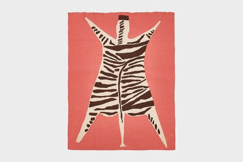 Zebra Knit Blanket