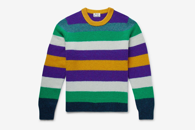 Kai Striped Wool Sweater
