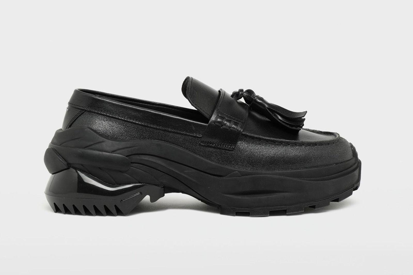 maison margiela spliced tassel loafer sneakers buy now Formal footwear