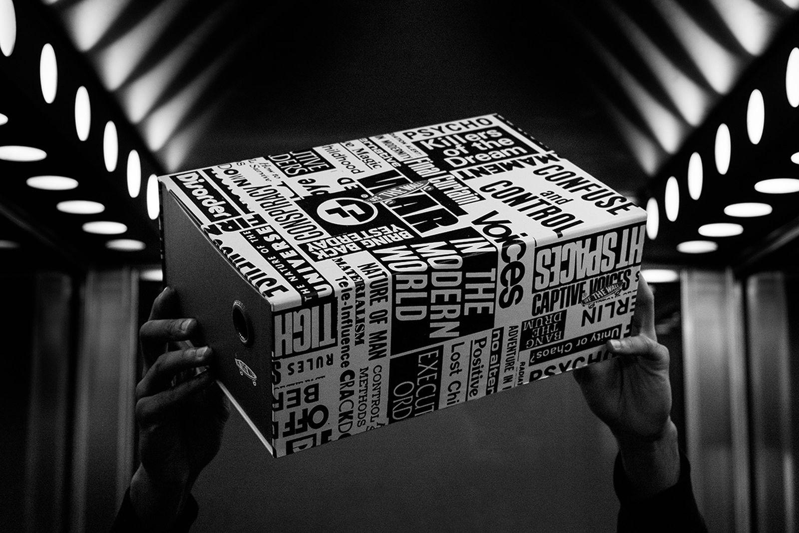 Firmament x Vans sneaker box