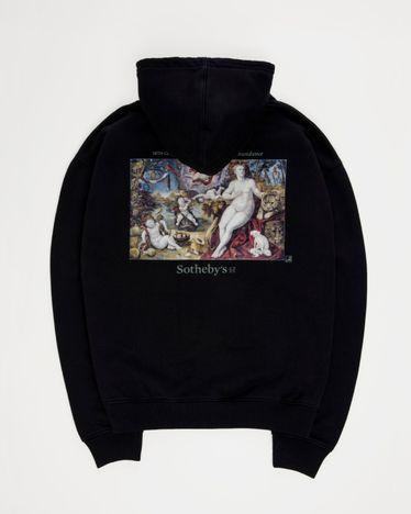 Highsnobiety x Sotheby's - Hoodie Black Florentine School