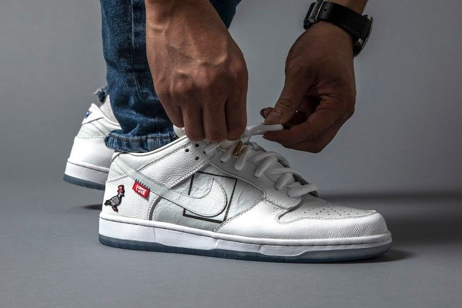 Jeff Staple x the Shoe Surgeon Drop Free Custom Nike Dunks, But There's a Catch 3