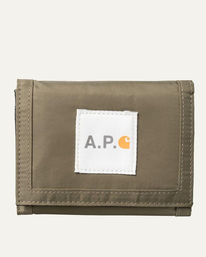 A.P.C. x Carhartt WIP - Shawn Tri-Fold Wallet
