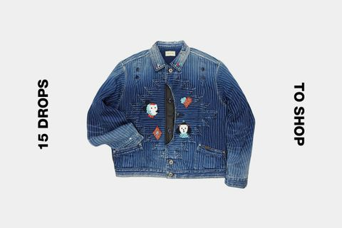 kapital wabash denim jacket best drops buy Acne Studios JJJJound Maison Mihara Yasuhiro