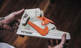 3cbe728f5e8510 The Shoe Surgeon Gives the OFF-WHITE Air Jordan 1 a Halloween Makeover.  Sneakers