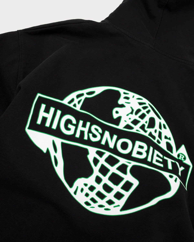 Highsnobiety x L'AS du FALLAFEL - Logo Hoodie Black - Image 8