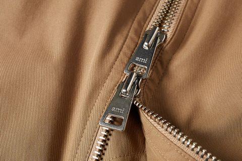 Zipped Harrington Jacket