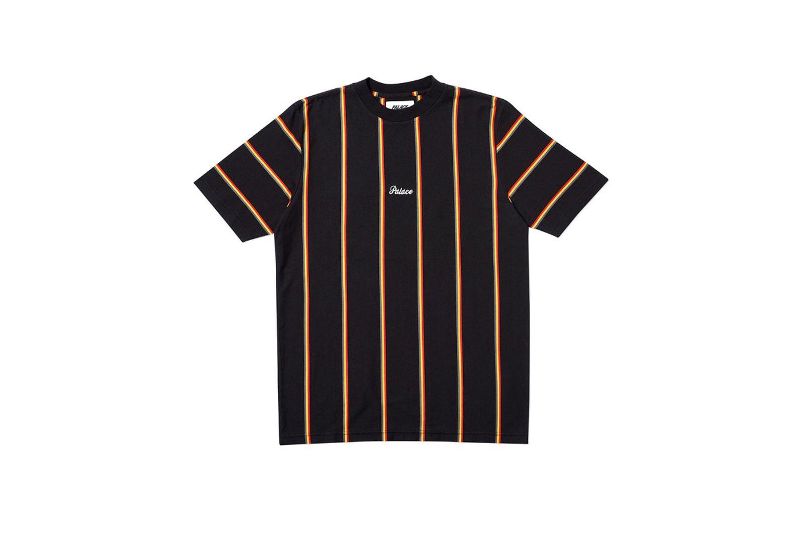 Palace 2019 Autumn T Shirt Vert black front