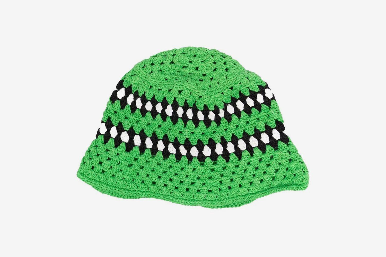 Crochet-Knit Hat