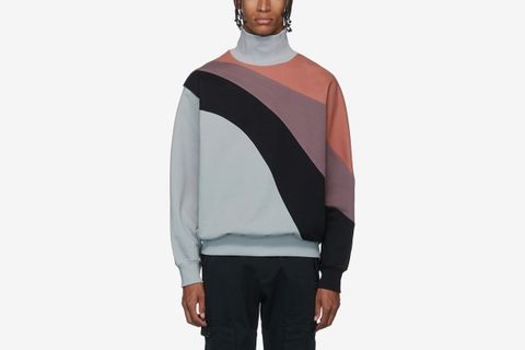 Loose Fit Turtleneck