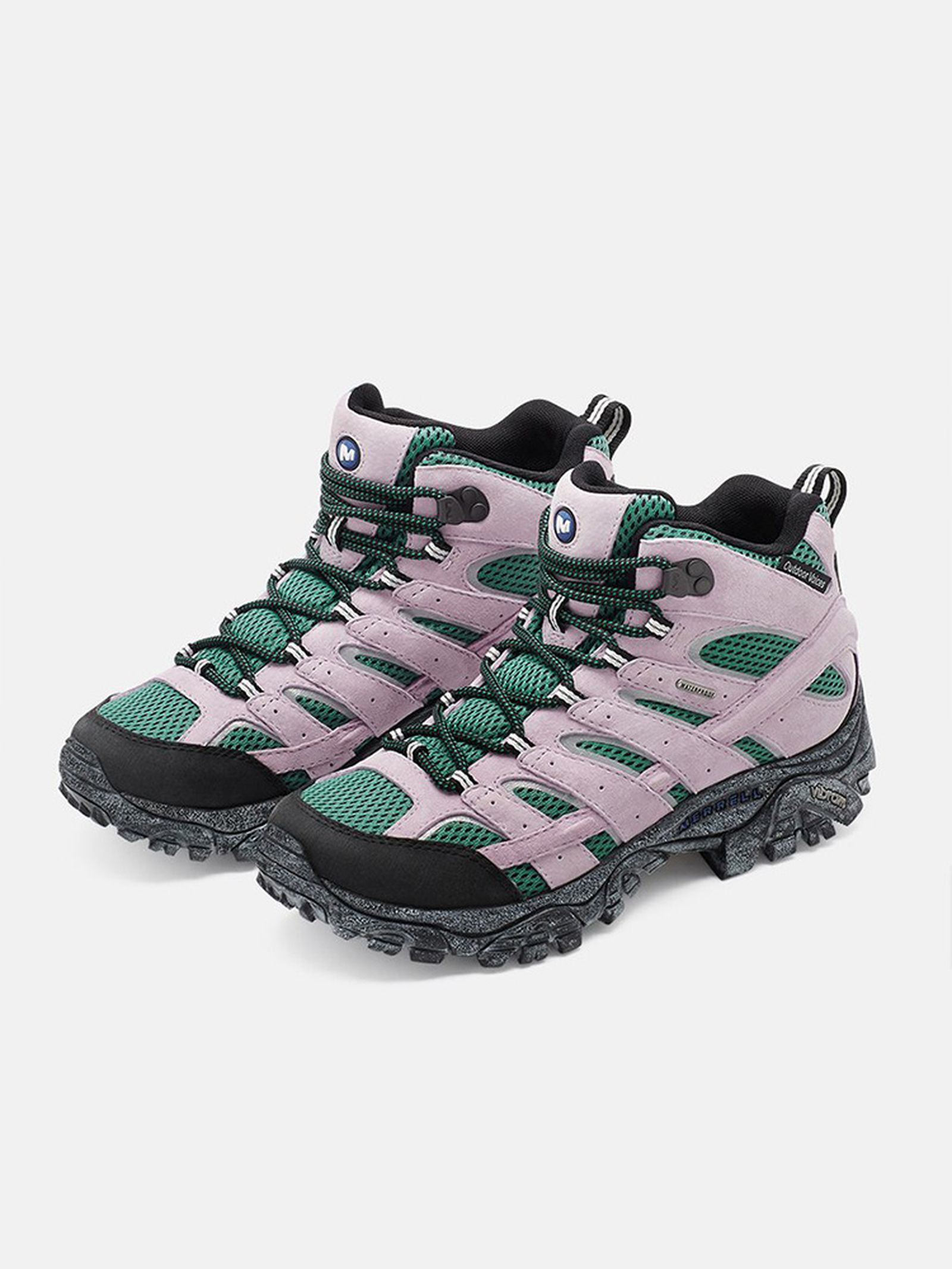 Outdoor Voices x Merrell Moab 2 Mid purple