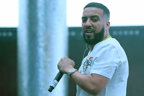 French Montana performs at Live @ CES