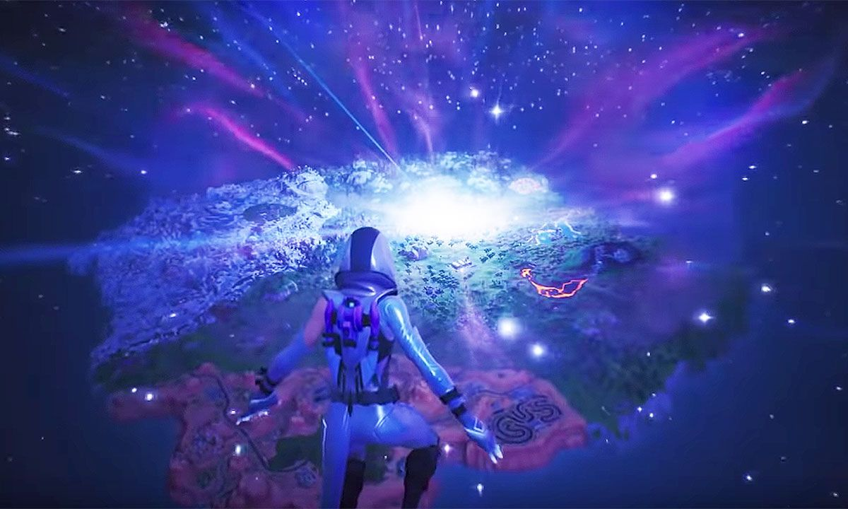 The Entire 'Fortnite' Map Just Got Sucked Into a Black Hole & Players Are Freaking out