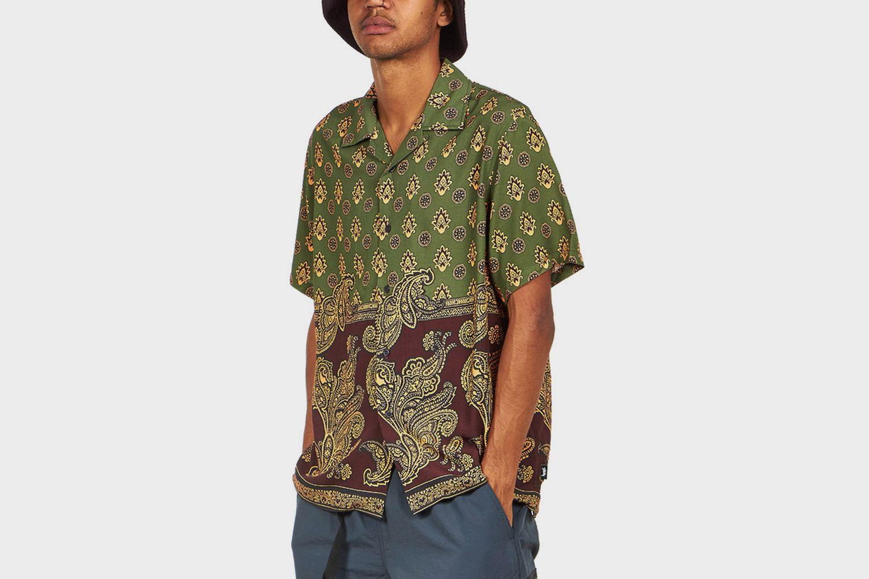Block Paisley Shirt