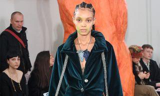 Fanning Sisters Prove Their Design Mastery for the Kiko Kostadinov FW19 Womenswear Collection
