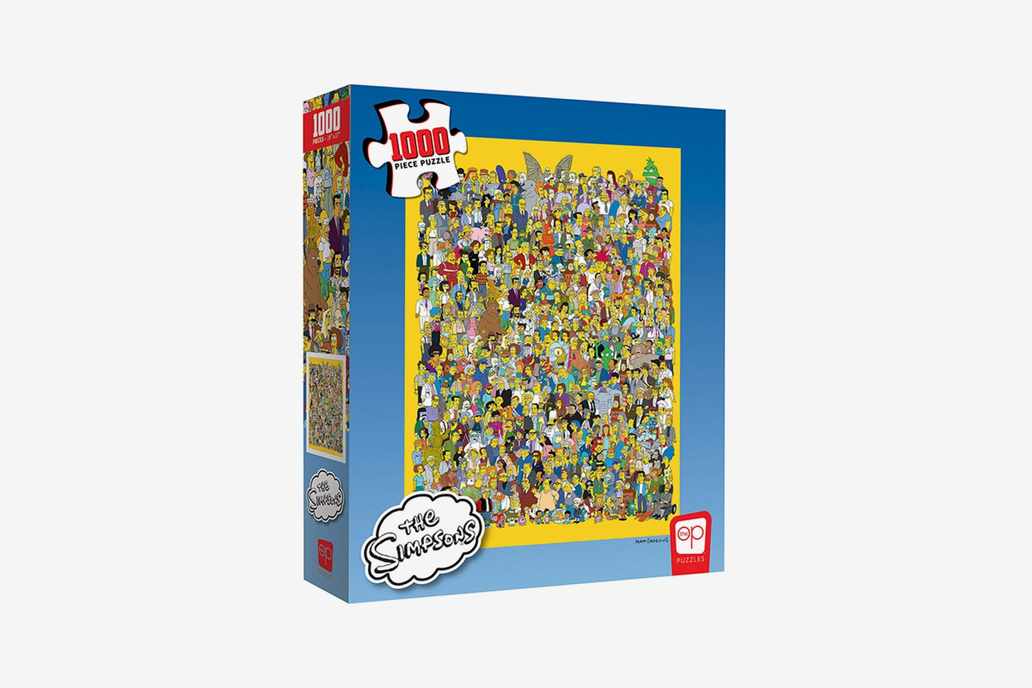 The Simpsons Cast 1000 Piece Puzzle