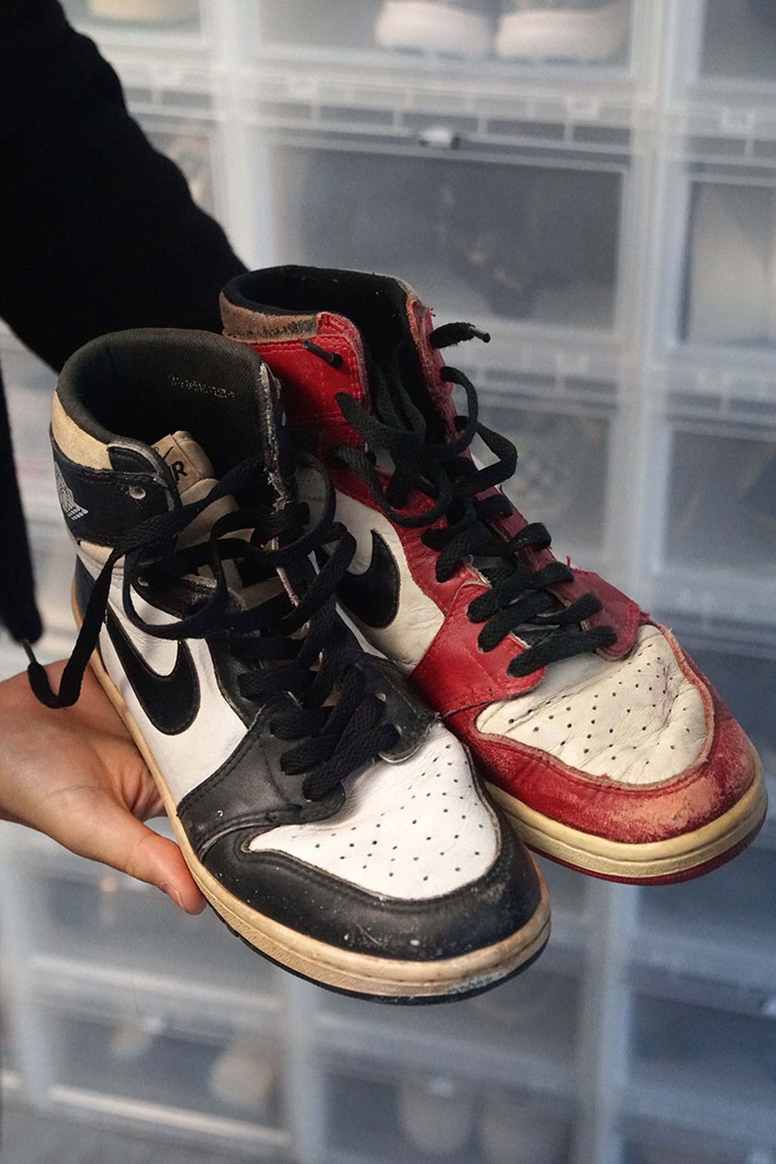 Kim Jones shows off his personal collection of OG Air Jordans