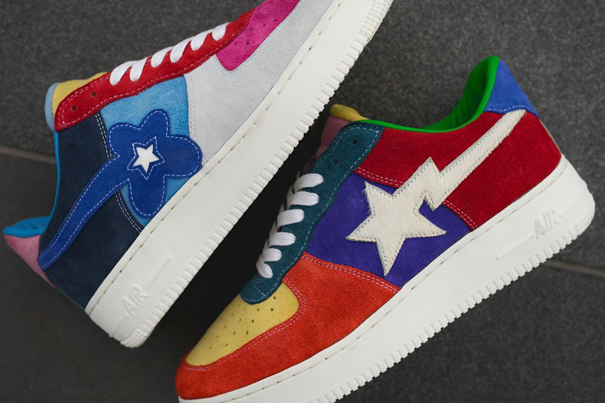 This Custom Air Force 1 Features BAPE & Tyler, The Creator-Inspired Details