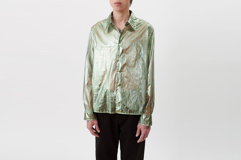 Transparent Glossy Shirt
