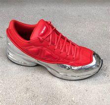 raf simons unveils chrome covered ozweego sneaker for adidas