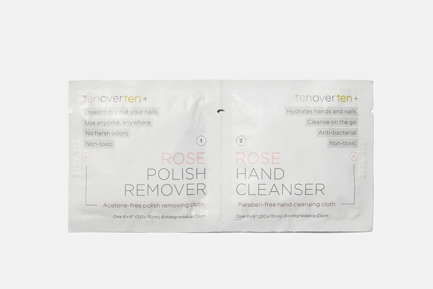 Nail Polish Remover + Hand Cleanser Cloth