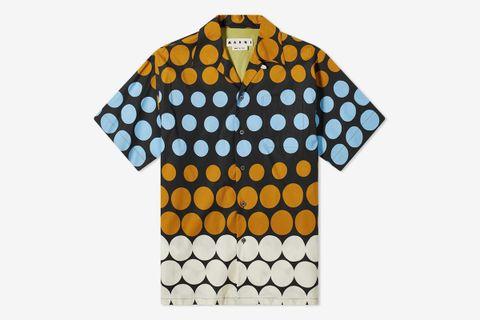 Polka Dot Vacation Shirt