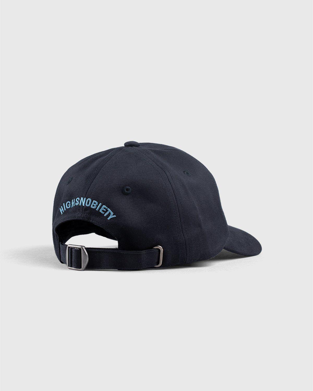 Highsnobiety — Not In Paris 3 x Galerie Perrotin Cap Black - Image 3