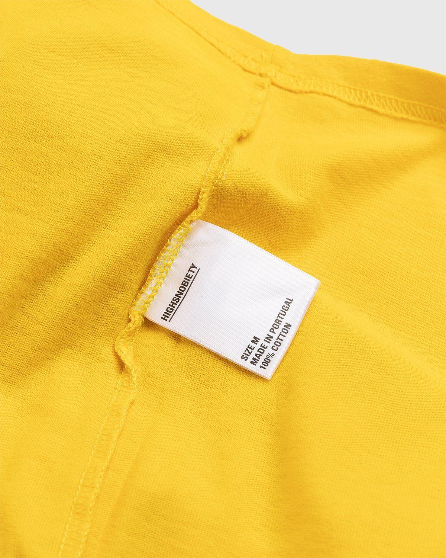Highsnobiety x Keith Haring – Longsleeve Yellow - Image 5
