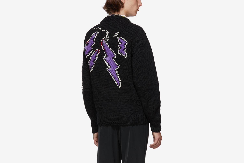 Hand-Knit Runway Sweater