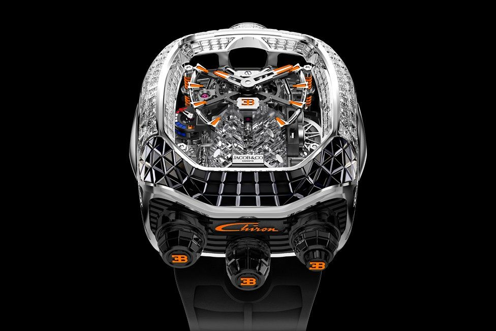 Jacob & Co.'s Newest Bugatti Chiron Watch Is an Exercise in Pure Excess