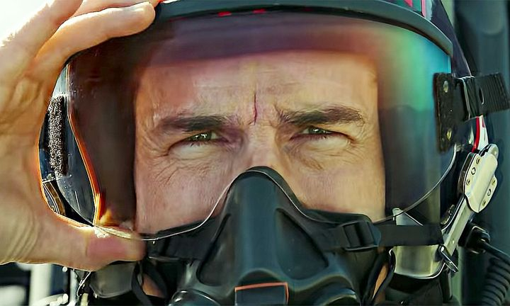Tom Cruise helmet Top Gun: Maverick trailer